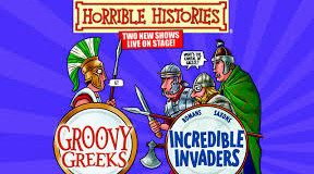 Horrible Histories Greeks & Invaders